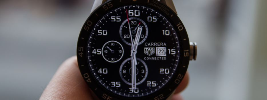 tag heuer smartwatch connected