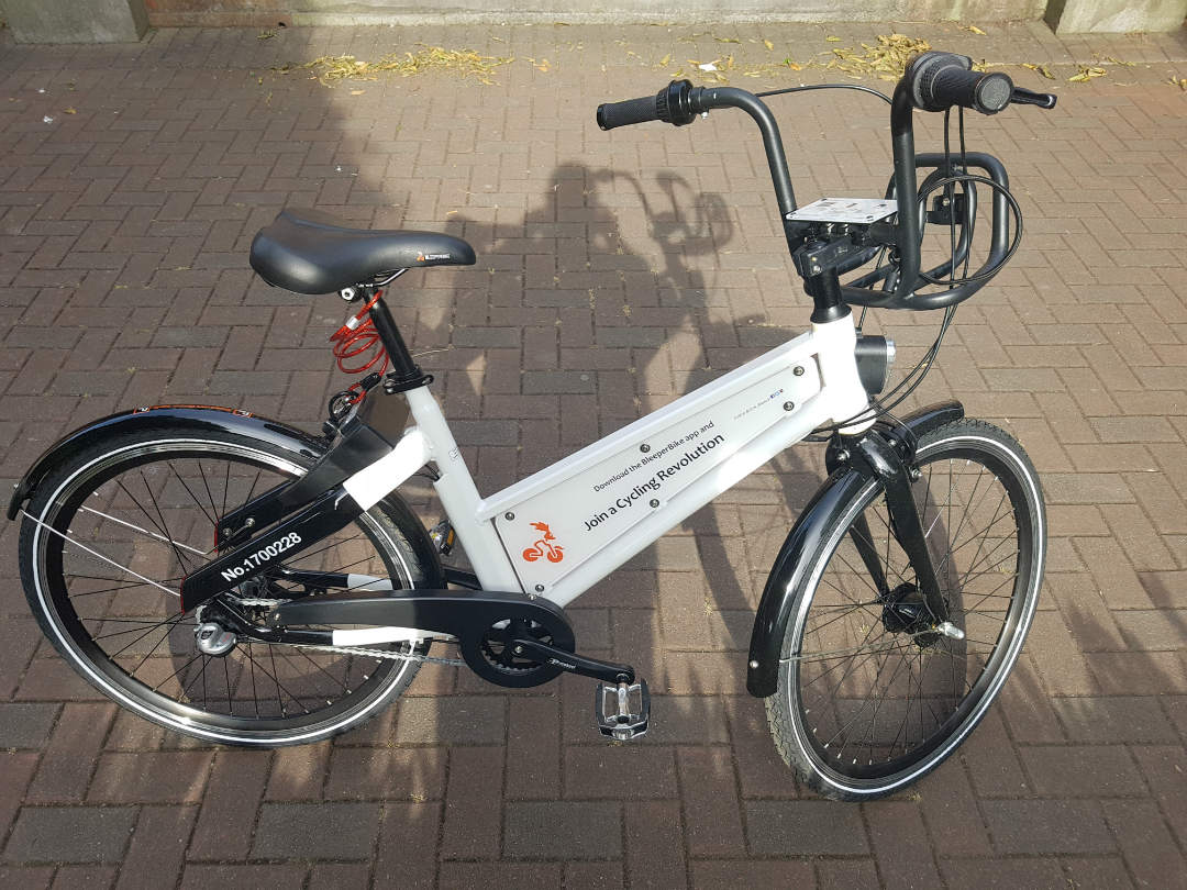 bleeperbikes review because they're now available in dublin