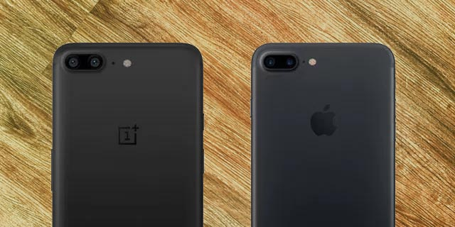 oneplus 5 is similar to the iPhone 7