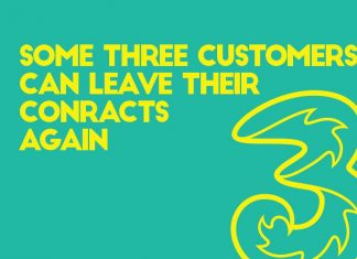 three customers can leave contracts