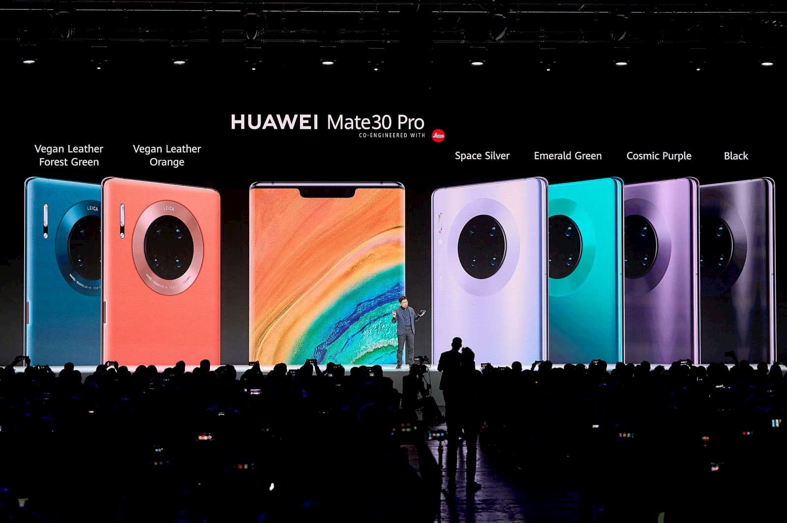huawei mate 30 pro and mate 30 series