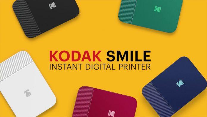 kodak colourful smile printer