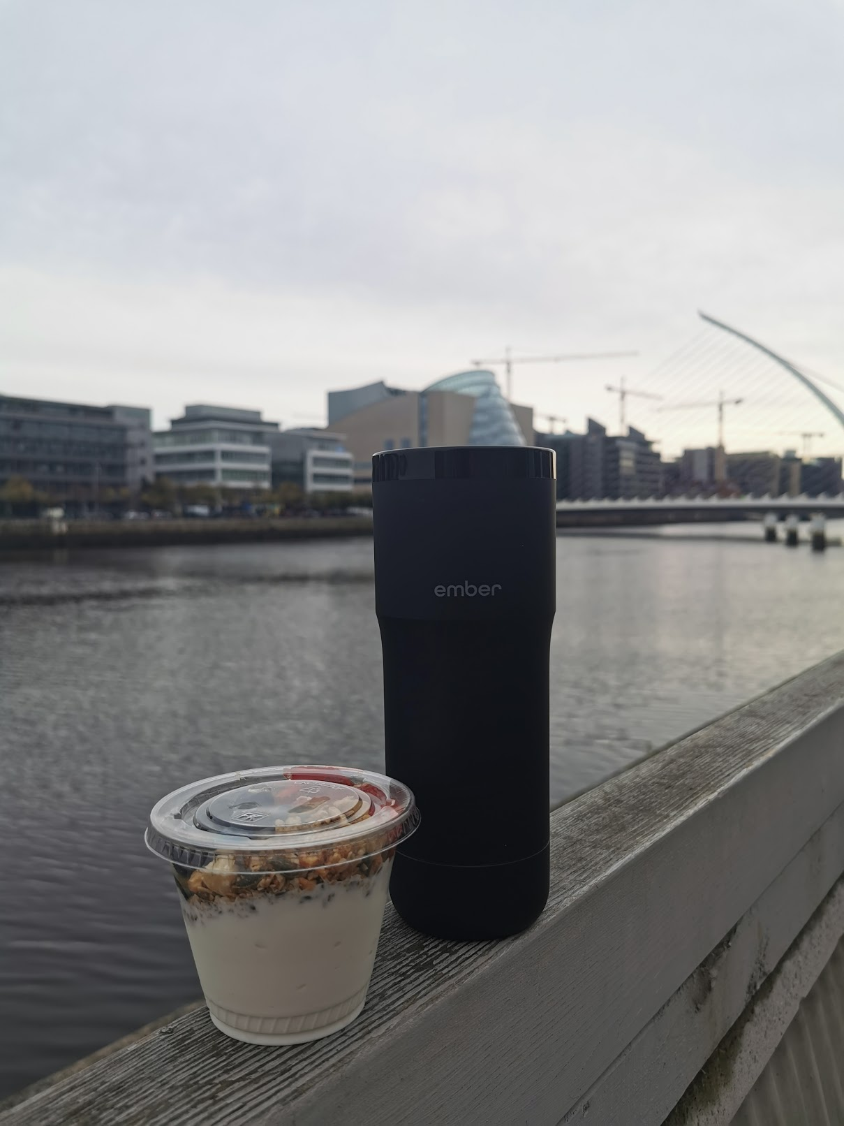 ember coffee by the river