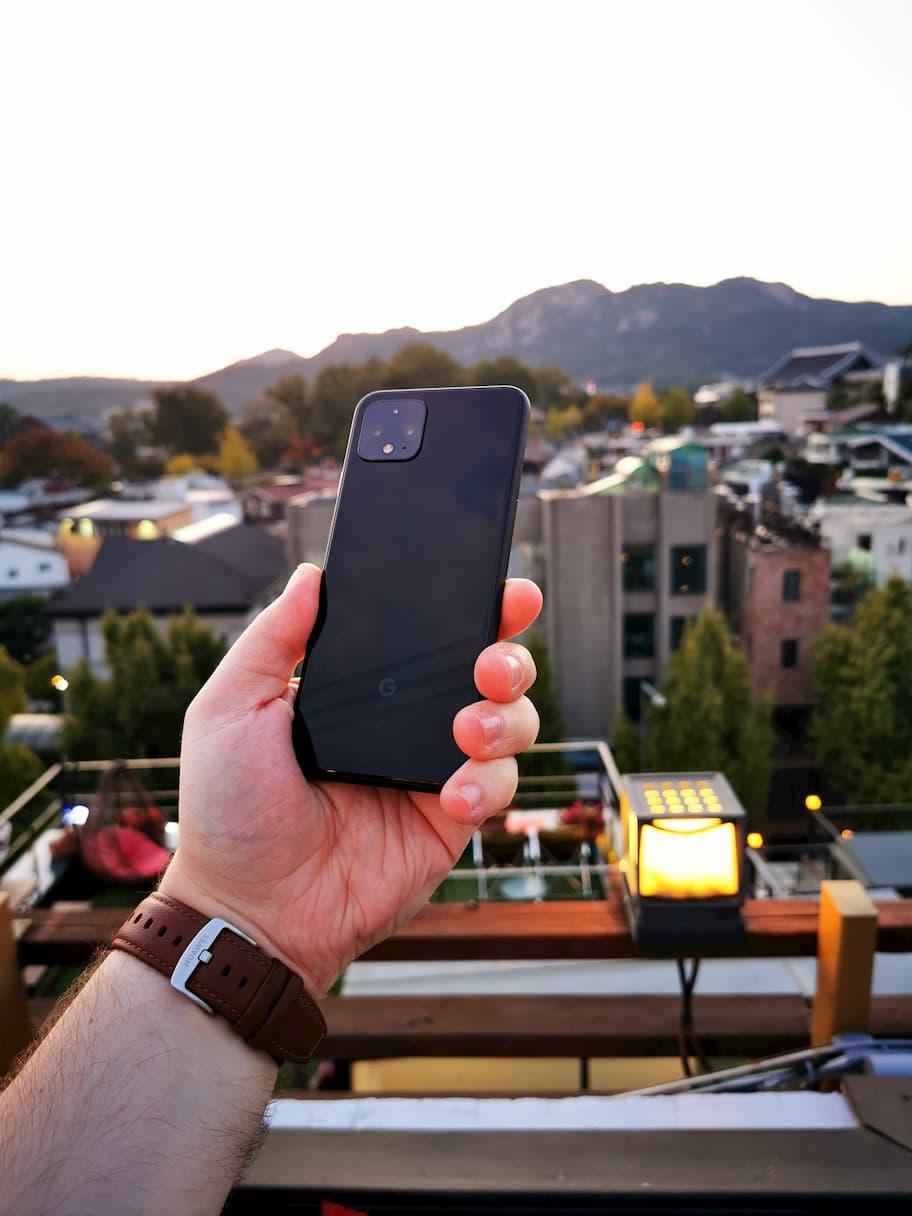 pixel 4 in korea
