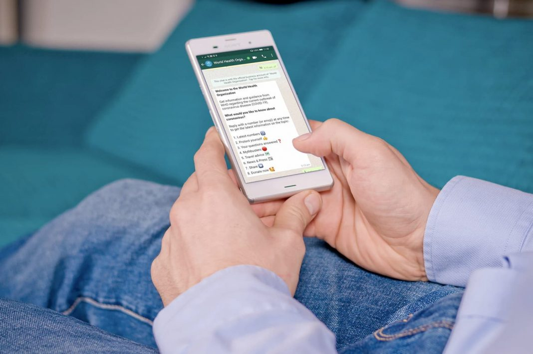 who launches covid-19 whatsapp info service