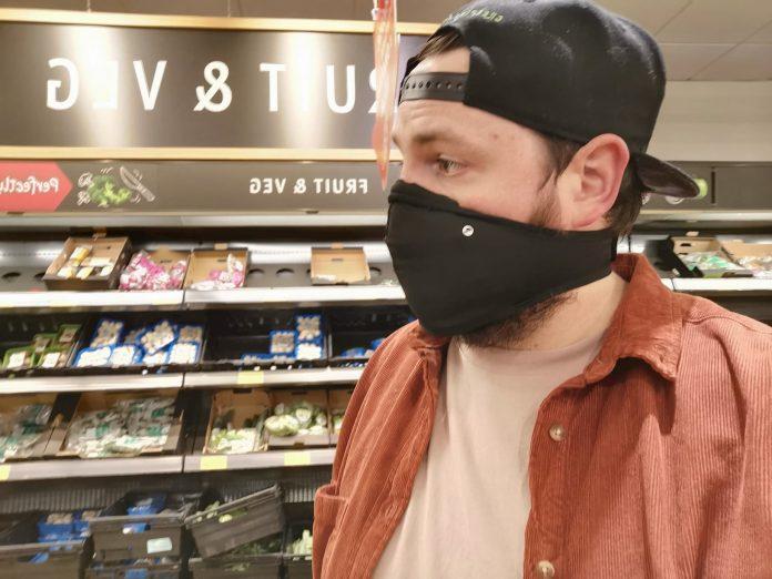 closca face mask in aldi