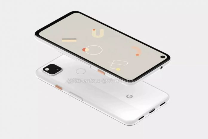 leaked pixel 4a design