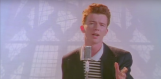 history of the rick-roll